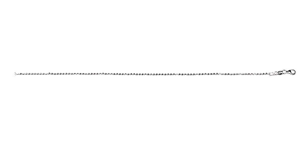 Hõbedast jalakett 23-25 cm
