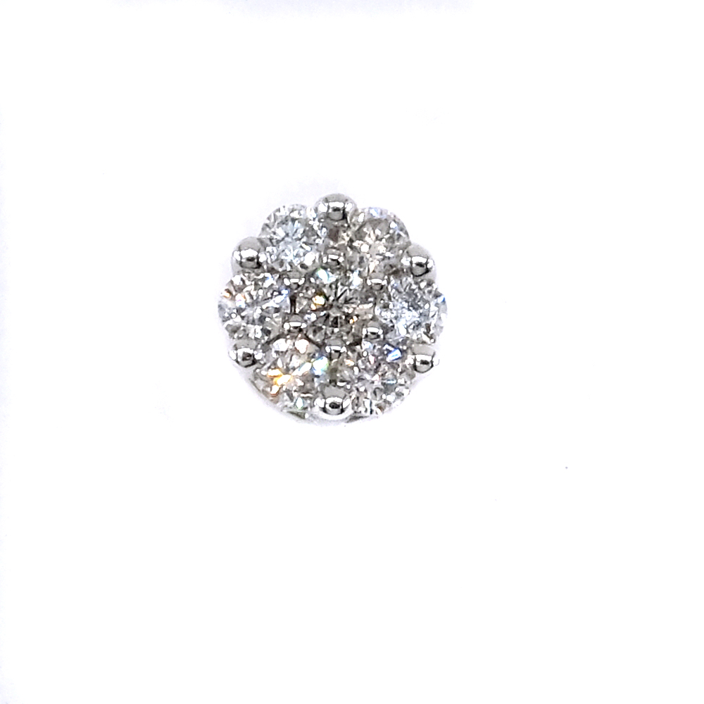 DIA teemantidega kuldkõrvarõngad